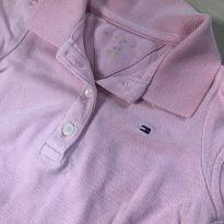 polo body rosa tommy hilfiger - 18 a 24 meses - Tommy Hilfiger