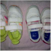Lote tênis - 23 - Reebok e Adidas