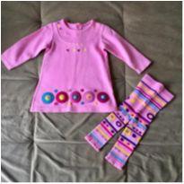 Vestido manda longa Marisol - 24 a 36 meses - Marisol