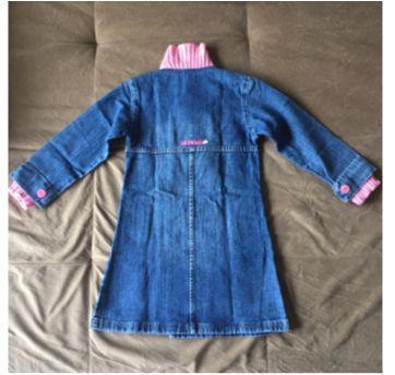 Sobretudo jeans Lilica Ripilica - 4 anos - Lilica Ripilica