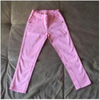 Calça jeans rosa - 4 anos - Mineral Kids