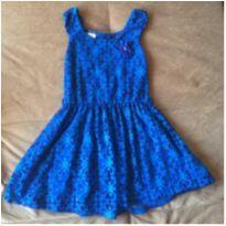 Vestido azul - 6 anos - Angerô