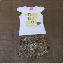 conjunto camiseta e shorts - 3 anos - Le Petit