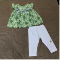 Conjunto blusinha e calça legging - 2 anos - sonia