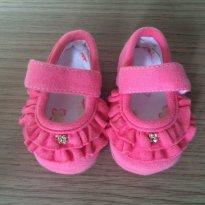 Sapatinho Rosa MKshoes cod. 33 - 15 - Mk Shoes
