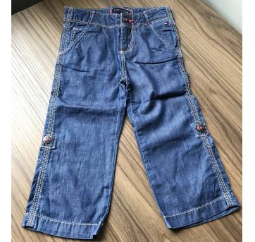 Calça Jeans Tommy Hilfiger - 18 meses - Tommy Hilfiger