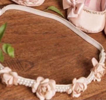 Faixa Roana headband flores - Único - Roana