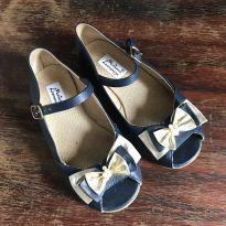 Sapato marianna lorenzzo azul marinho - 27 - Marianna Lorenzzo