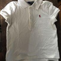 Blusa Polo Ralph Lauren Off Whitte - 6 anos - Ralph Lauren