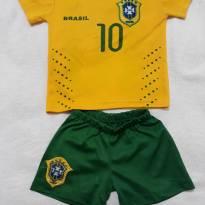 Conjuntinho do Brasil tamanho 2 - 2 anos - Não informada