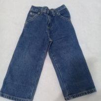 Calça jeans com elástico tamanho 2 - 2 anos - Não informada