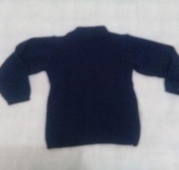 Blusa de lã tamanho 2 - 2 anos - Não informada