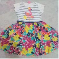 Vestido florido lindo tamanho 8 - 8 anos - For Girl
