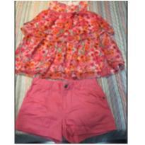Conjunto floral Momi 10 - 10 anos - Momi