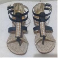 Sandália gladiadora com pérolas 31 - 31 - Gota D`Agua