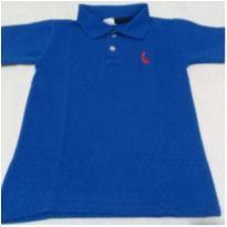 Camisa Pólo azul tamanho 4. - 4 anos - Reserva Réplica