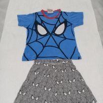 Pijama Homem-Aranha - 4 anos - MARVEL