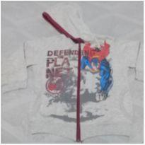 Blusa de frio zíper Super Homem 4 - 4 anos - Marlan