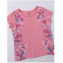 Blusa Rosa Floral - 2 anos - Poim, Cherokee e Up Baby