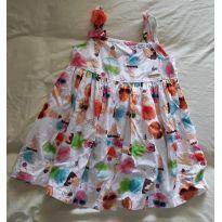 Vestidinho Sorvete - 1 ano - Alphabeto