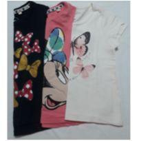 Lote Camisetas - 2 anos - C&A e Renner