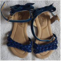 Sandália Klin Azul 21 - 21 - Klin