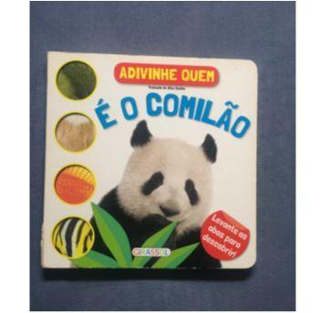 Livro Adivinha Quem É O Comilão - Sem faixa etaria - Girassol, Editora