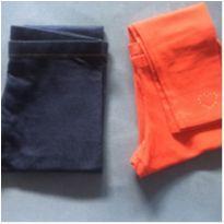 Kit calças leggings meninas - 8 anos - Outros