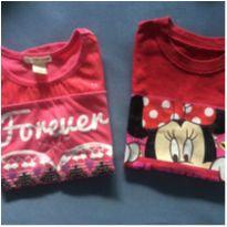 Kit duas camisetas meninas - 7 anos - Outros