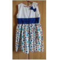 Vestido bonequinha 4 - 5 anos - Nacional