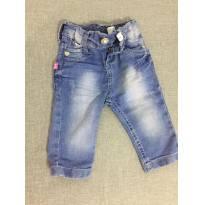 Calça Jeans - 0 a 3 meses - Não informada