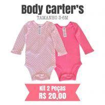 Body Carters - 3 a 6 meses - Carter`s