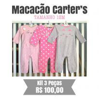 Kit Macacãoes Carters - 12 a 18 meses - Carter`s