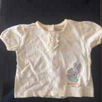 Camiseta Chicco - 6 meses - Chicco