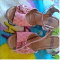 Linda sandália rosa - 30 - Outra