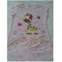 Pijama girafinha - 4 anos - Outra