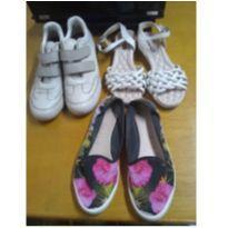 Lote de calçados tamanho 36 - 36 - Confortflex e Moleca