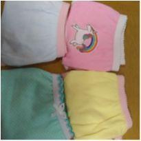 4 calcinhas(novas) tamanho 4 anos - 4 anos - Kid Collection