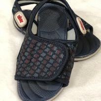 Sandália azul velcro - 22 - Kidy