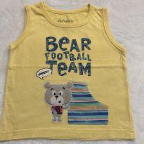 Camiseta regata - 1 ano - Alphabeto