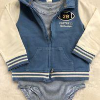 Conjunto body e jaqueta - 18 meses - Carter`s