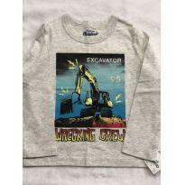 Camiseta trator manga longa - 24 a 36 meses - OshKosh