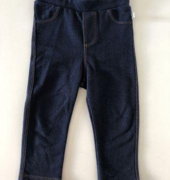 Calça jeans-malha - 9 a 12 meses - Teddy Boom