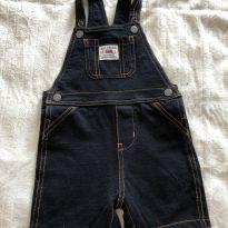 Macaquinho jeans - 18 meses - Carter`s