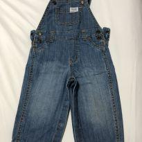 Jardineira jeans - 9 meses - Carter`s