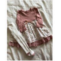 Vestido floral - 3 meses - Prime Baby