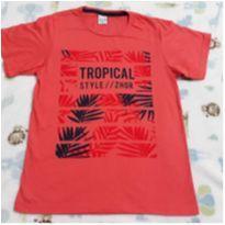 Camisa nova tropical 3! - 12 anos - Não informada