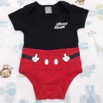 Body Mickey - 6 a 9 meses - Disney