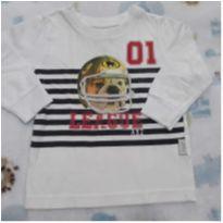 Camisa Alakazoo cachorrinho - 6 a 9 meses - Alakazoo!