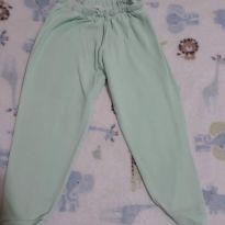 Calça de pijama verde claro - 2 anos - Não informada